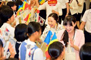 九州創価学会 九州(2会場)で日韓青年部が広布後継を誓う大会