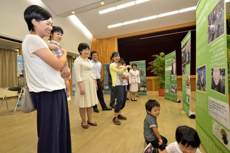 九州創価学会 「希望の種子展」を宮崎県椎葉村で開催