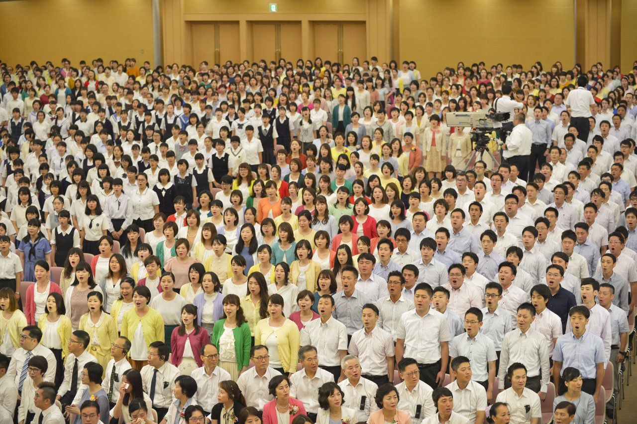 九州創価学会 世界広布新時代第36回本部幹部会・九州総会が開催