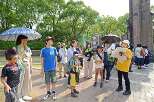 九州創価学会 長崎市で「ピースウオーク」を開催