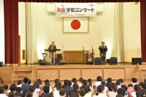 九州創価学会 福岡で学校コンサート