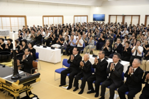 九州創価学会 長崎で「原爆の日」勤行法要