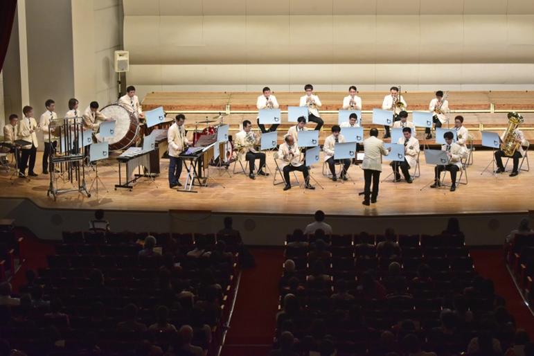 九州創価学会 音楽隊が各地で熱演