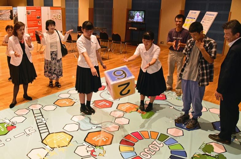 九州創価学会 環境展示「希望の種子」展 長崎・壱岐で開催
