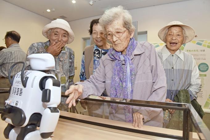 九州創価学会 大分・豊後大野市で「平和の文化と希望展」