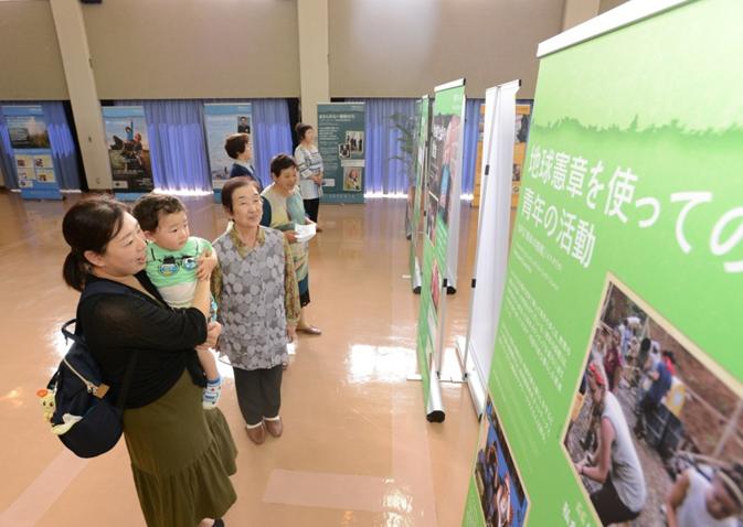 九州創価学会 環境展示「希望の種子」展 宮崎・高千穂町で開催