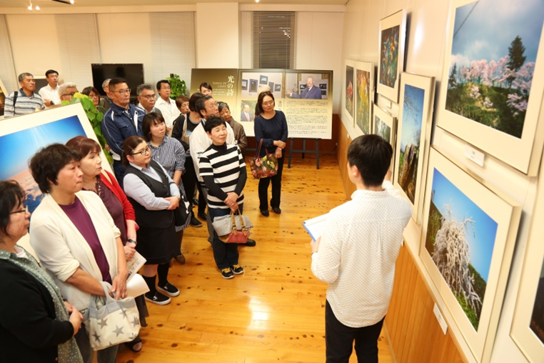 九州創価学会 長崎・対馬で自然との対話展