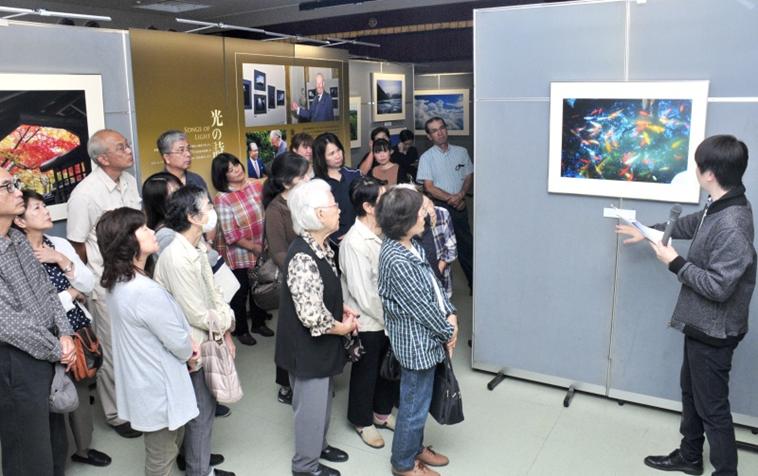 九州創価学会 鹿児島・喜界島で「自然との対話」写真展