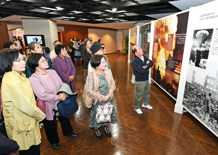 九州創価学会 福岡市で「核兵器なき世界への連帯展」