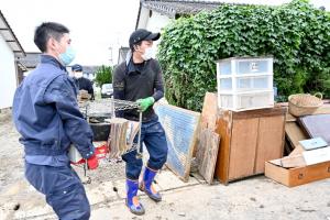 九州創価学会 「令和2年7月豪雨」災害 復旧支援に全力